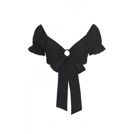 Monday Swimwear Official Store Acapulco Top - Black